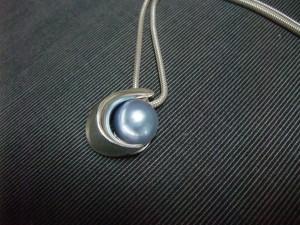 blue moon pendant